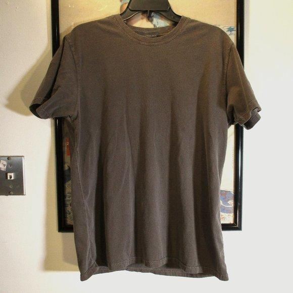 Banana Republic crew neck t-shirt short sleeve brown large